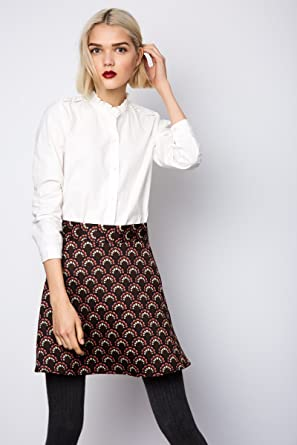 Compañia Fantastica Casino Skirt Falda Casual, Multicolor (Print ...