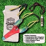 aGreatLife Wooden Bird Slingshot and Eagle