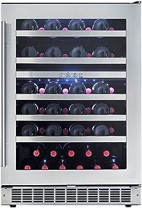 "Danby DWC053D1BSSPR 24"" Sonoma Wine Cellar in Stainless Steel"