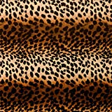 "Premium Birthday or All Occasion Gift Wrap Heavy Weight Leopard Animal Cat Print Gloss Finish Wrapping Paper for Women Girls 1 Design of 5ft X 30"" Roll"