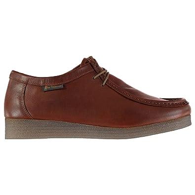 sale retailer 6aa8e 435a2 Ben Sherman Herren Quad Wallabee Moc Toe Schuhe