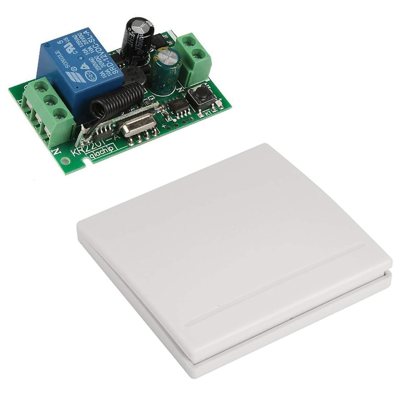Populära YLX Universal 1CH AC 110V Channel Remote Control Switch Mini FT-05