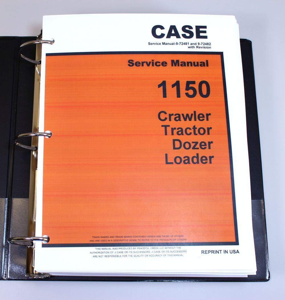 Amazon com: Case 1150 Crawler Tractor Bull Dozer Loader