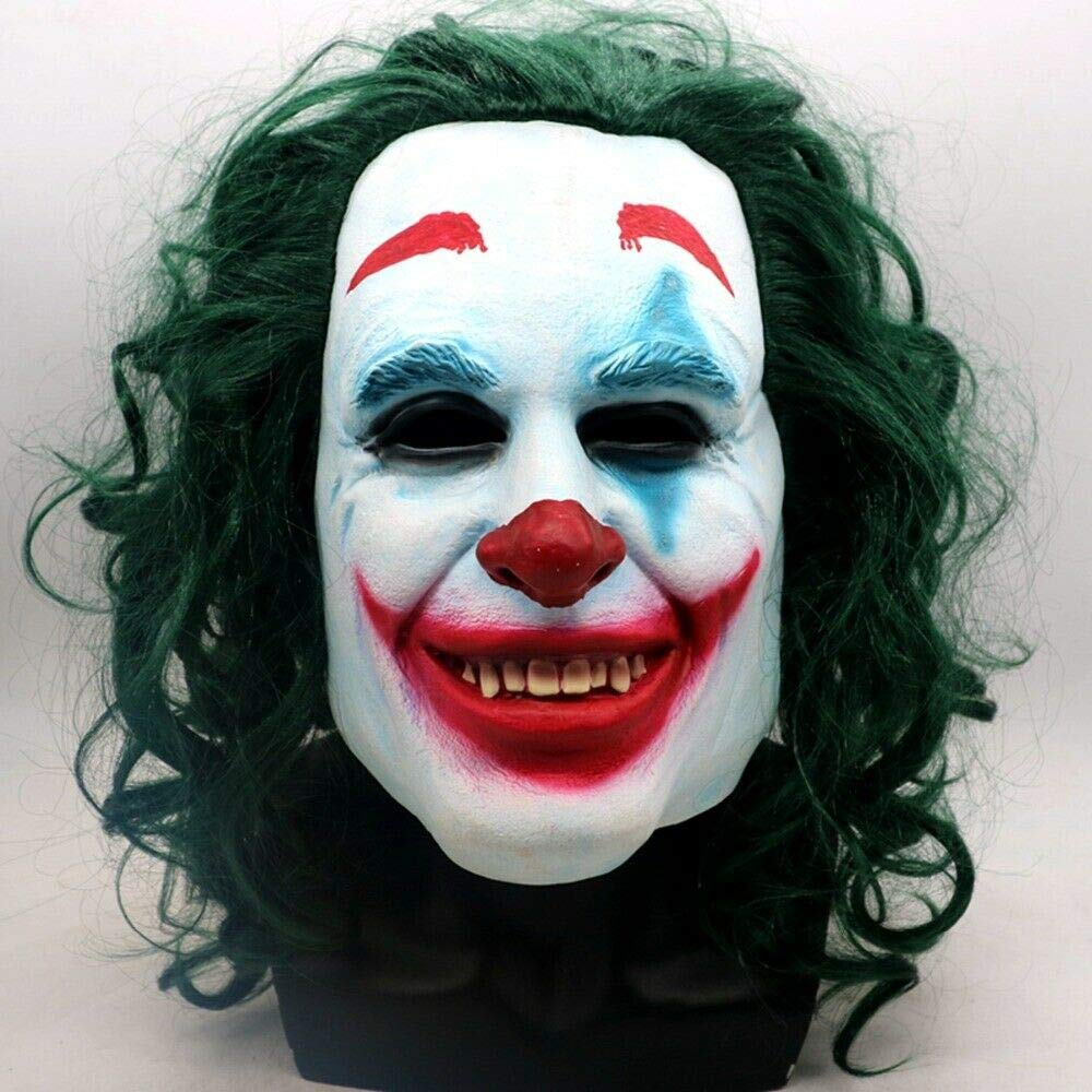 Amazon.com Joker Mask for Halloween Joaquin Phoenix 2019