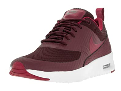 NIKE Damen W Air Max Thea Txt Low-top, Bordeaux, 36.5 EU: Amazon.de ...