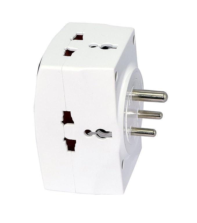 Orcus Basics Linetek Universal Multi Plug 3 Pin Socket Amazon In