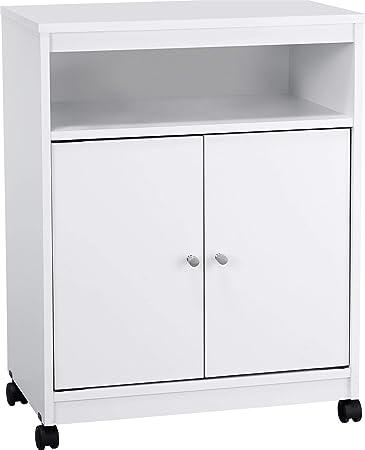 Amazon.com: Mueble para microondas Landry de Altra, Níquel ...