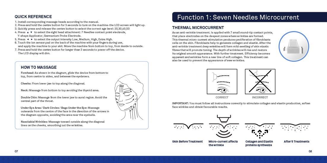 Masajeador facial Collagen ReNu Pro Lift de SkinPep: Amazon ...