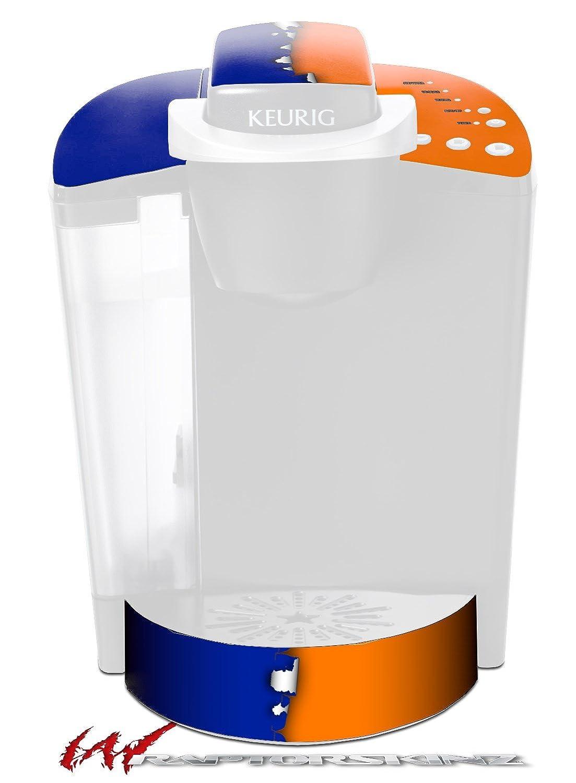 取り込んだ色ブルーオレンジ – デカールスタイルビニールスキンFits Keurig k40 Eliteコーヒーメーカー( Keurig Not Included )   B017AK26YK