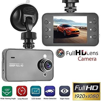 "Automotive 720p HD DVR Digital Video 2.4/"" LCD Display Dashcam w// Night Vision"