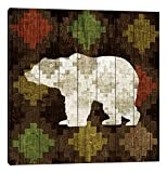 iCanvasART Southwest Lodge (Bear) Canvas Print, 37'' x 0.75'' x 37''