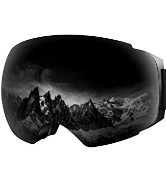 da5b8fdfe6a7 YAKAON OTG Ski Goggles UV Protection Snowboard Goggles Frameless Spherical  Anti-Fog Lens for Men Women Youth  Amazon.ca  Sports   Outdoors