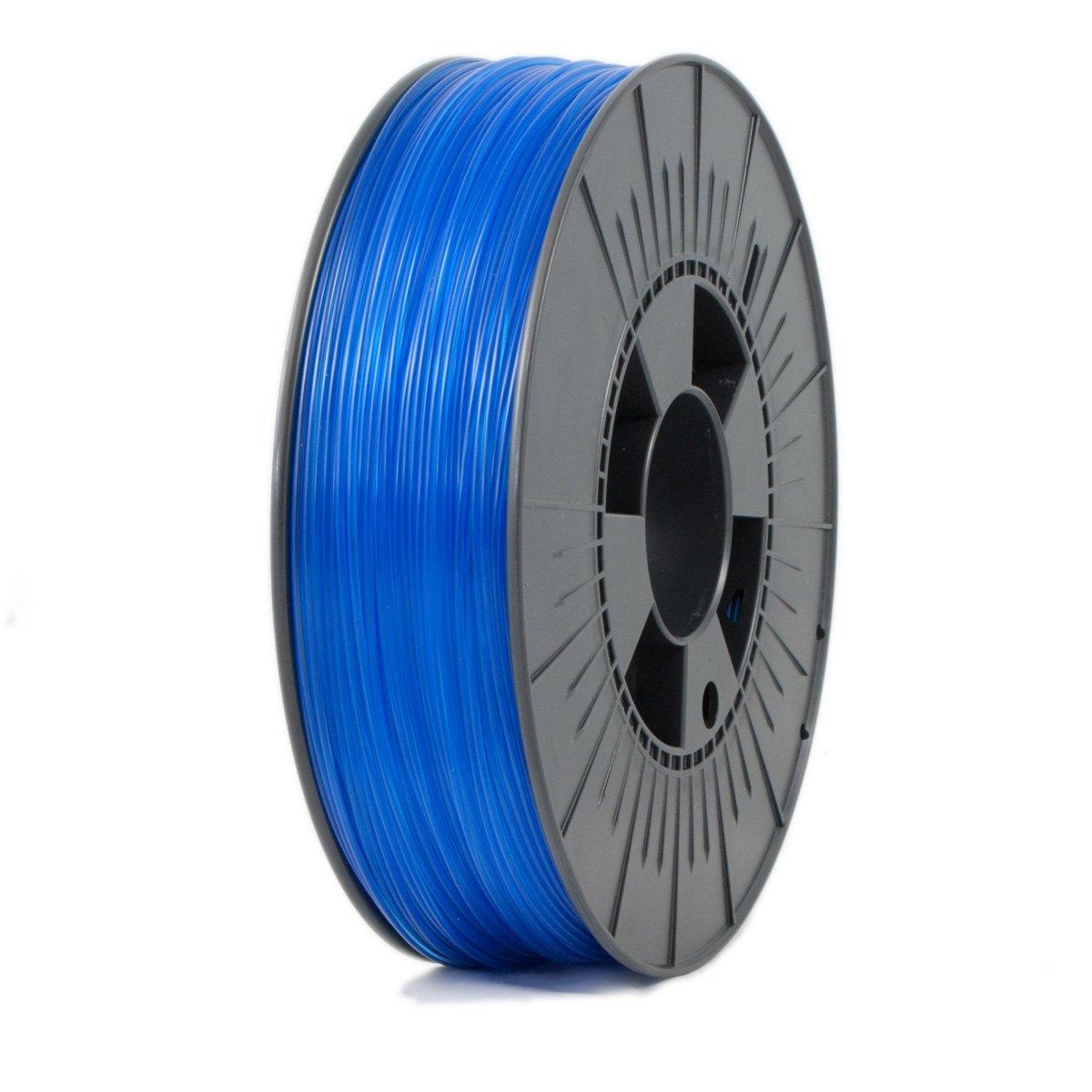 new ICE FILAMENTS ICEFIL1PET151 PET Filament, 1.75 mm, 0.75 kg, Transparent  Bold Blue ca67e37ea949