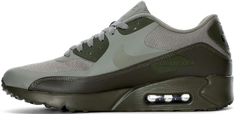 Nike Air Max 90 Ultra 2.0 Essential Mens Running Trainers 875695 Sneakers Shoes (UK 8 US 9 EU 42.5, Dark Stucco 013)