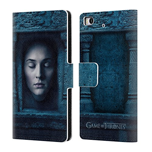 Official HBO Game Of Thrones Sansa Stark Faces Leather Book Wallet Case Cover For Xiaomi Mi (Sansa Leather Case)