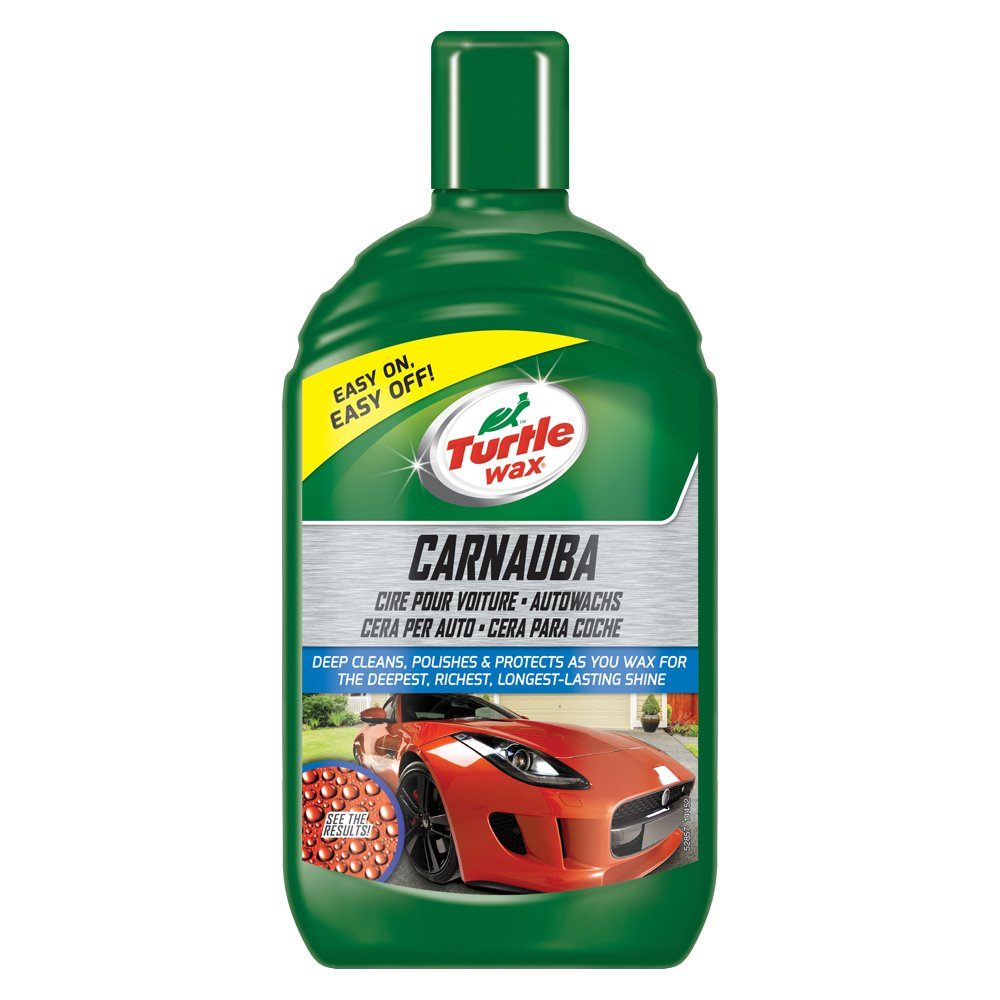 Turtle Wax 52857 Carnauba Liquide Cire de Voiture Detailing Protection et Brillance Durable 500ml