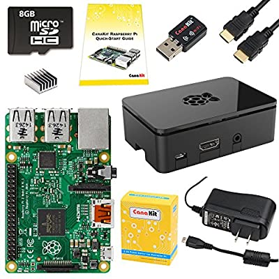 CanaKit Raspberry Pi 2 Complete Starter Kit (9-Items) from CanaKit