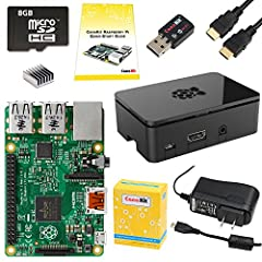 NOTE: The 8 GB MicroSD card may appear as 1 GB when inserted into a PC as it is pre-partitioned. The remaining space can be expanded as desired.The CanaKit Raspberry Pi Starter Kit is covered by CanaKit's 1-Year Manufacturer Warranty offering...