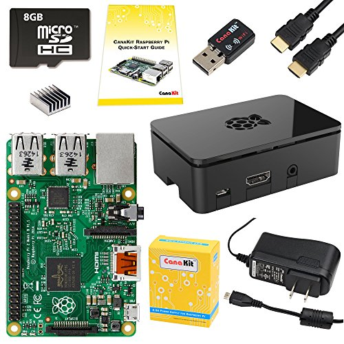 CanaKit Raspberry Pi 2 Complete Starter Kit (9-Items) (Raspberry Pi 2 Model B compare prices)