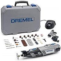 Dremel 8220 Multifunktionsverktyg, Sladdlös, 12 V, Set med 45 tillbehör, ett Precisionshandtag och ett Modelleringsbord