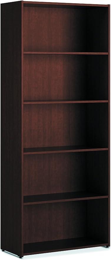 HON 101 - Estantería (5 estantes), Color Cerezo: Amazon.es ...