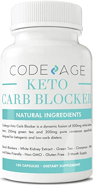 Amazon.com: Keto Carb Blocker Capsules - 180 Count - Ketosis ...