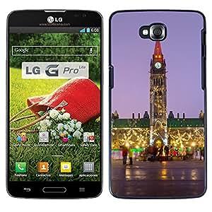 Print Motif Coque de protection Case Cover // F00001248 Parlamento Parlamento Ottawa, Ontario, // LG G Pro Lite D680