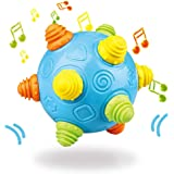 BEROVE Ball Toys for Toddlers, Learning Toys Self Rolling Music Shake Dancing Ball Toy, Ideal Gift