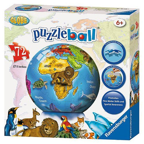 World Puzzleball - 72-Pieces - Ravensburger Puzzle Ball
