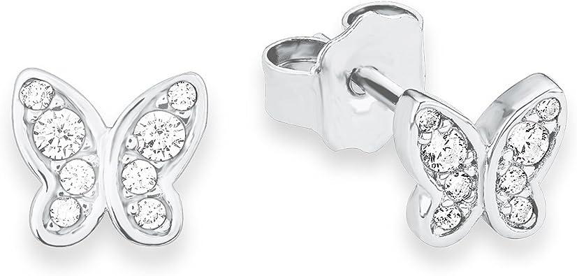 Lange stilvolle Sterling Silber Ohrringe massiv punziert 925 handgefertigt