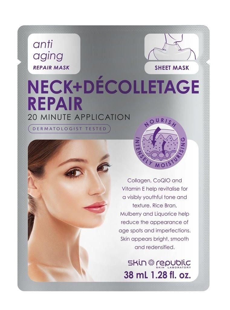 Skin Republic Anti Aging Neck+Décolletage Repair Mask 38ml