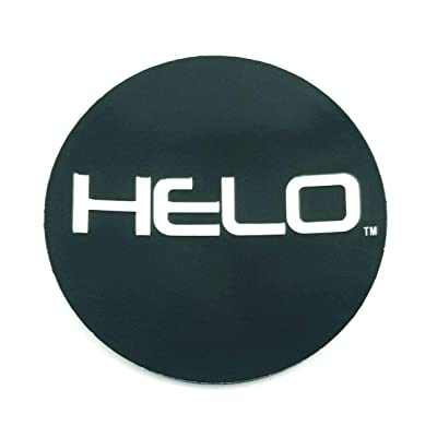 Helo 866 Wheel Black Replacement Sticker HE866L174-B: Automotive