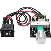 Docooler DC Motor Speed Controller 6V 12V 24V 3A Motor Speed Controller PWM Speed Regulator with Reversible Switch