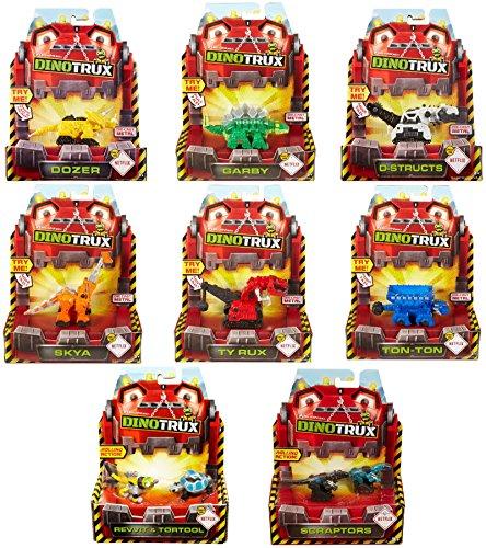Dinotrux Diecast Garby Vehicle Mattel CJW82