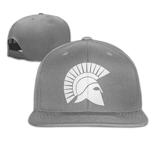 Spartan Helmet Truck Hat Adjustable Baseball Caps Dad Hat Flat Cap at  Amazon Men s Clothing store  995d89bb7d5