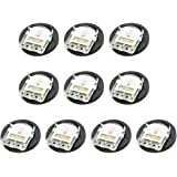 uxcell 50K Ohm Dial Wheel Potentiometer for Audio Stereo Volume Switch Control 16x2mm 20Pcs