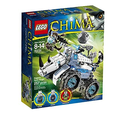 LEGO Chima Rogon's Rock Flinger 70131: Toys & Games