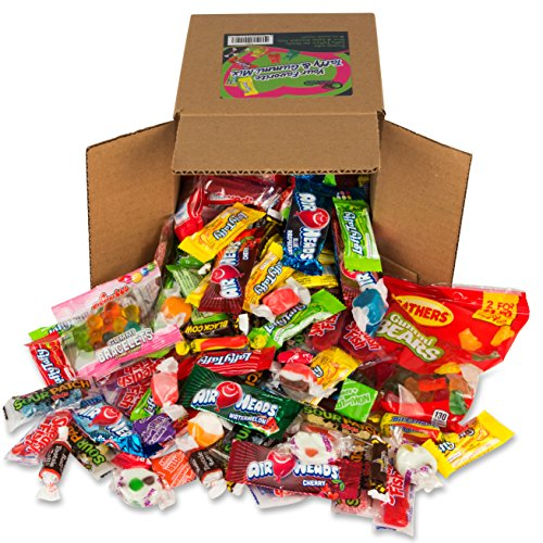 Your Favorite Party Mix Of Taffy & Gummi Candy 3 Pounds By Snackadilly