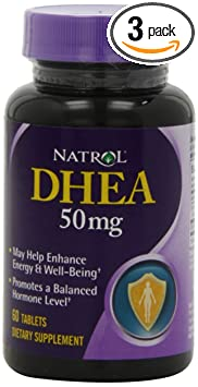 Natrol DHEA 50 mg supplement - Best Natural DHEA Supplement