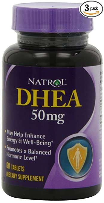 Natrol DHEA 50mg Supplement
