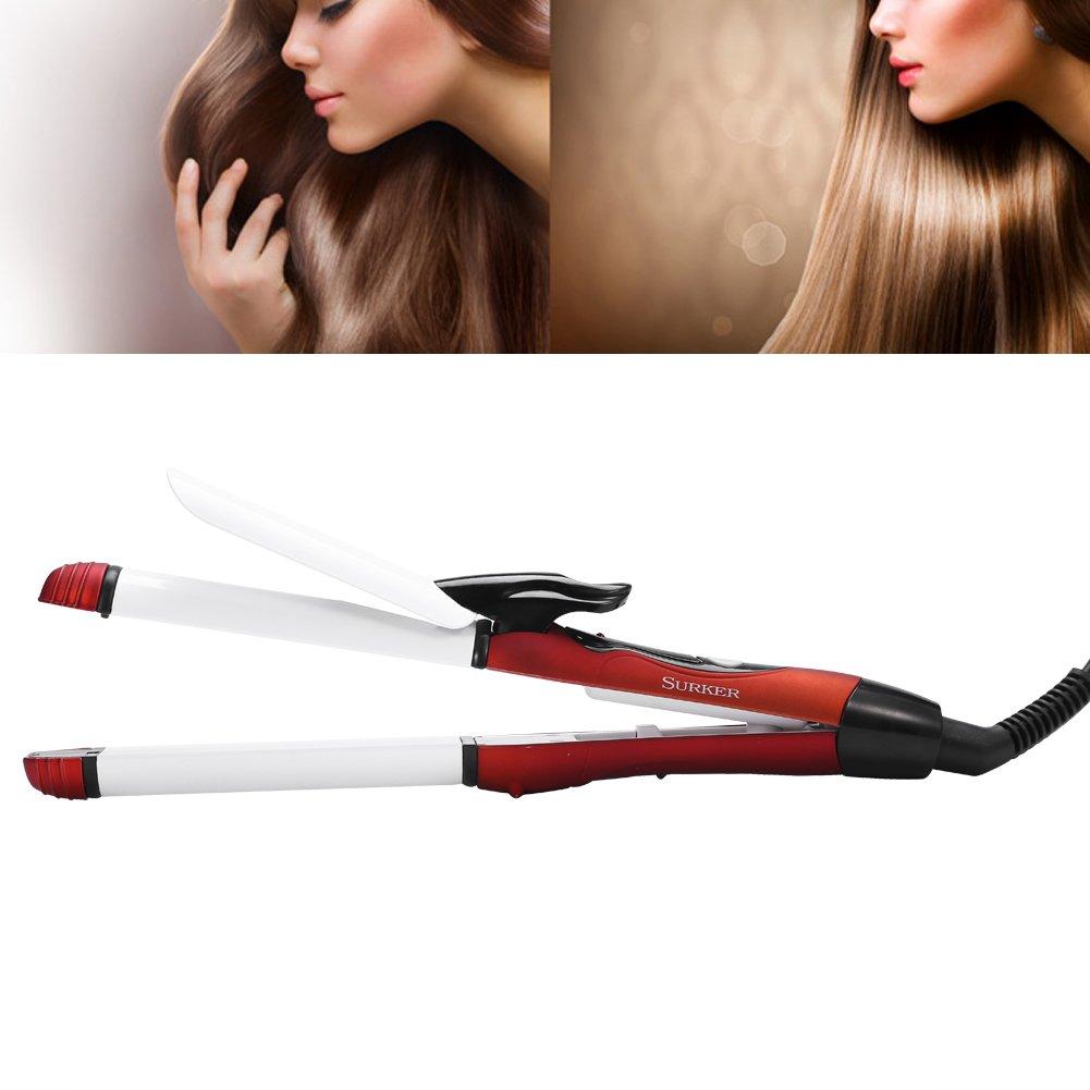 Lockenstab Haarglaetter Curl Haar Geraet USB Lockenwickler Lockeneisen Curler