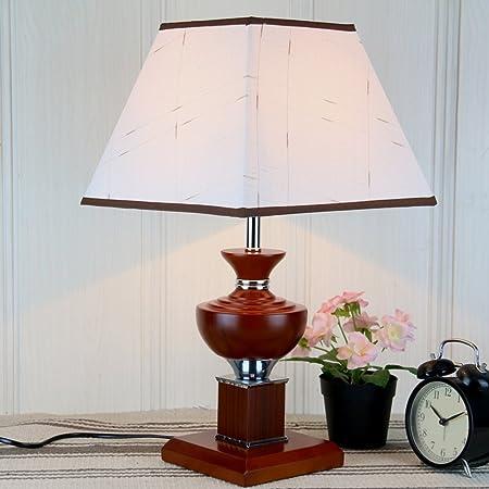 Yxsd Moderno Nuevo Chino Vintage Lámpara de Mesa Dormitorio Simple ...