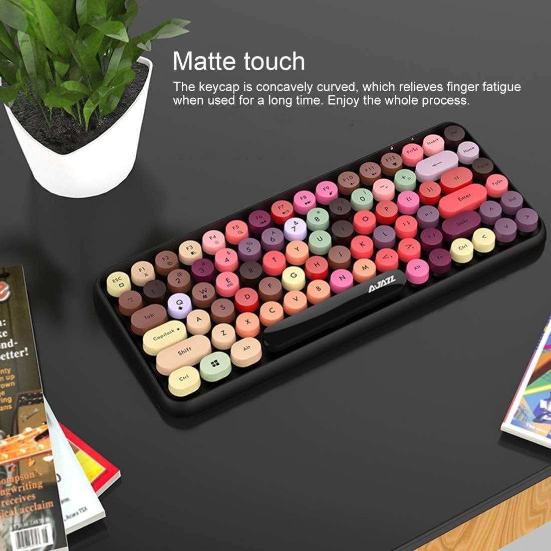 SHIFENX 308I 84 Macaroon Keys Tablet Mobile Phone Computer Household Office Bluetooth Keyboard