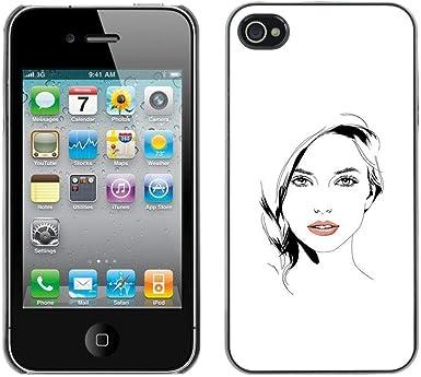 Opción de regalo/Slim carcasa SmartPhone de celular para iPhone 4 ...
