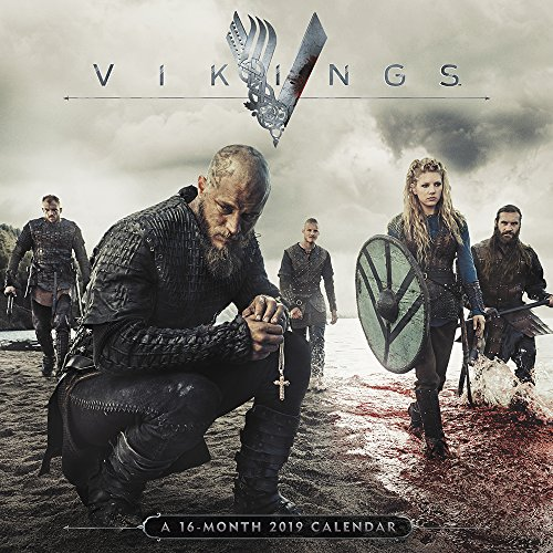 Vikings Wall Calendar (2019)