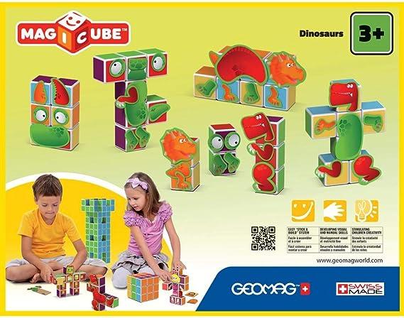 Geomag- Magicube Juguete de construcción, Multicolor, 24 Piezas (141): Amazon.es: Juguetes y juegos