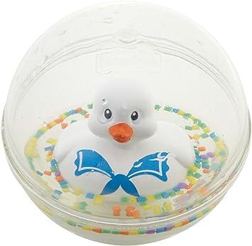 Fisher-Price Patito a flote blanco, juguete de baño para bebé ...