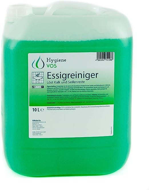 Hygiene VOS Limpiador Multisuperficies de Vinagre Ultra Potente de ...