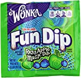 Wonka Lik-m-aid Fun Dip Candy, RazzApple Magic Dip, 0.5 Ounce, 48-Count