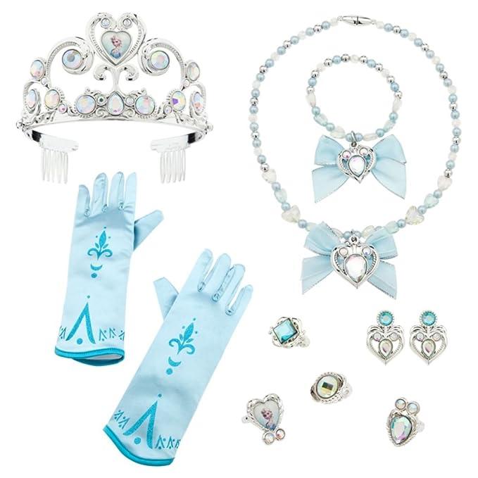 Amazon.com Disney Store Exclusive Elsa Costume 10 Piece Accessory Set - Frozen Clothing  sc 1 st  m.amazon.com & Amazon.com: Disney Store Exclusive Elsa Costume 10 Piece Accessory ...